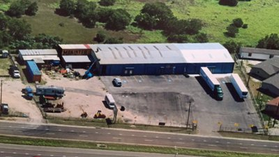 40x50 Warehouse self storage unit