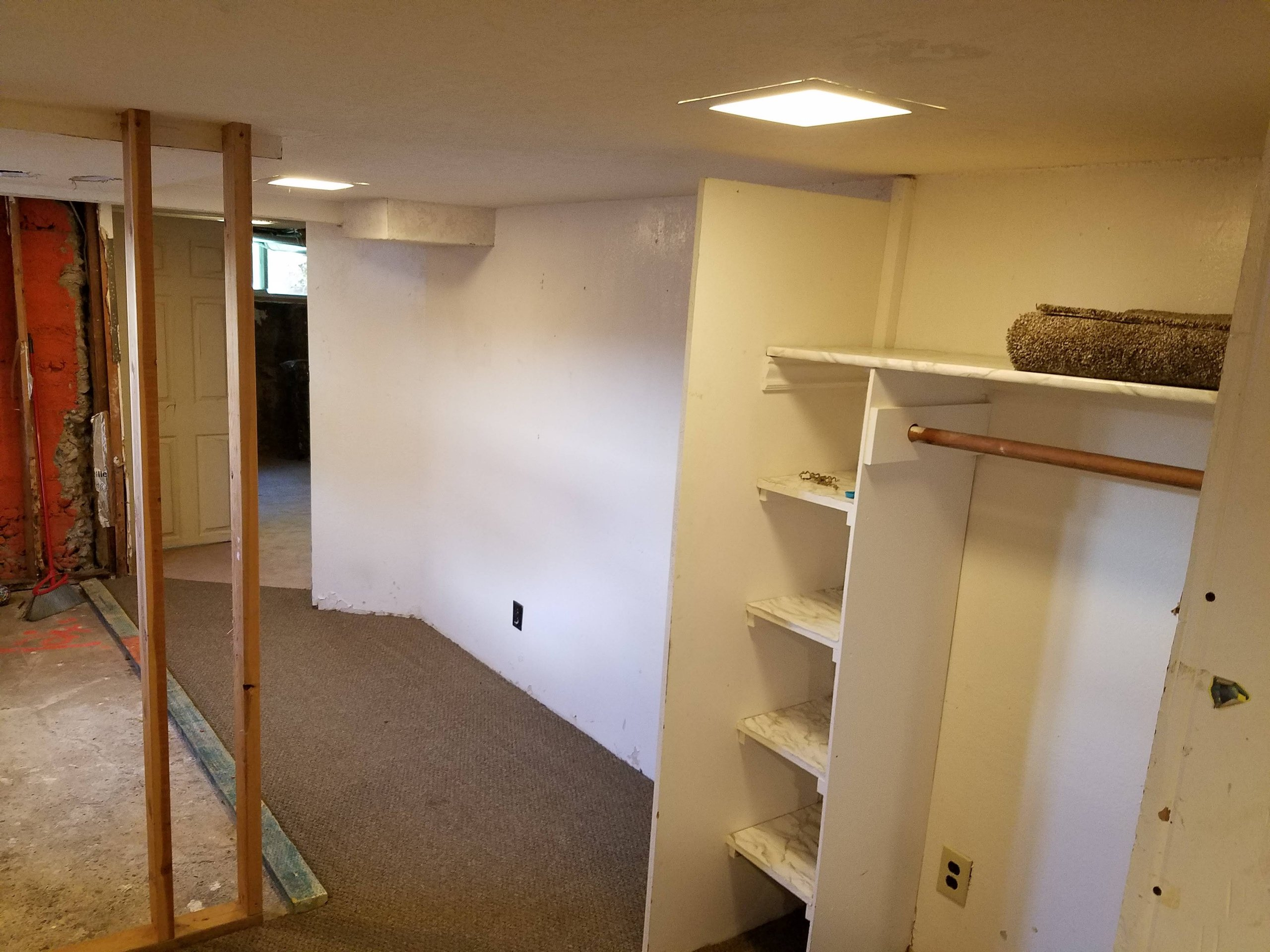 9x9 Basement self storage unit