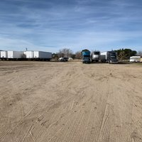 50x15 Unpaved Lot self storage unit