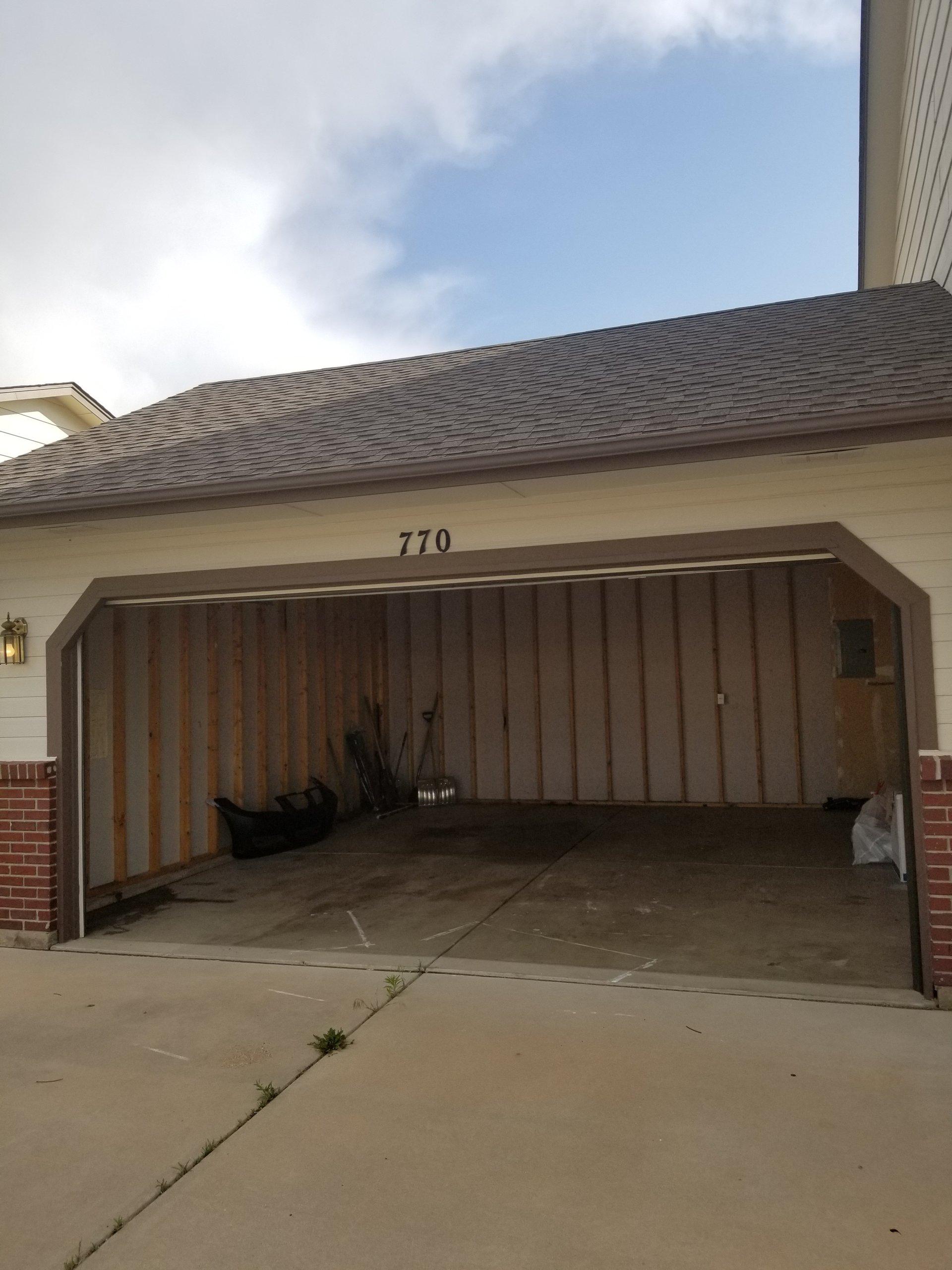 7x20 Garage self storage unit