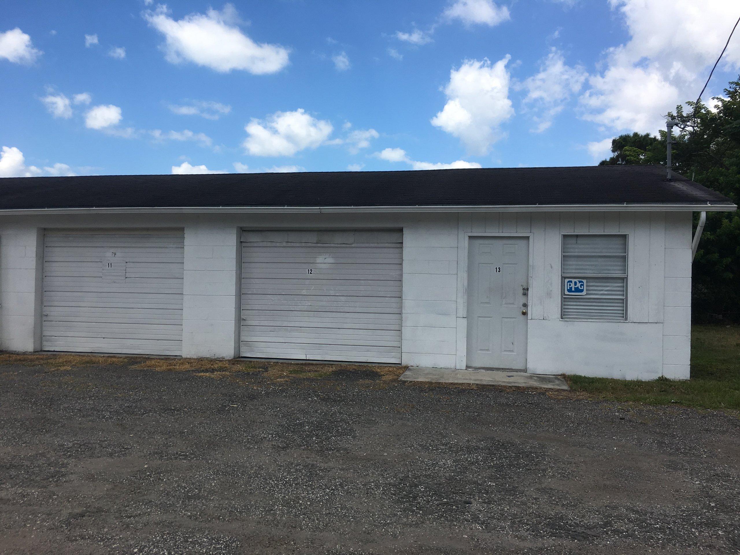 20x26 Warehouse self storage unit