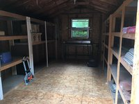 18x16 Shed self storage unit