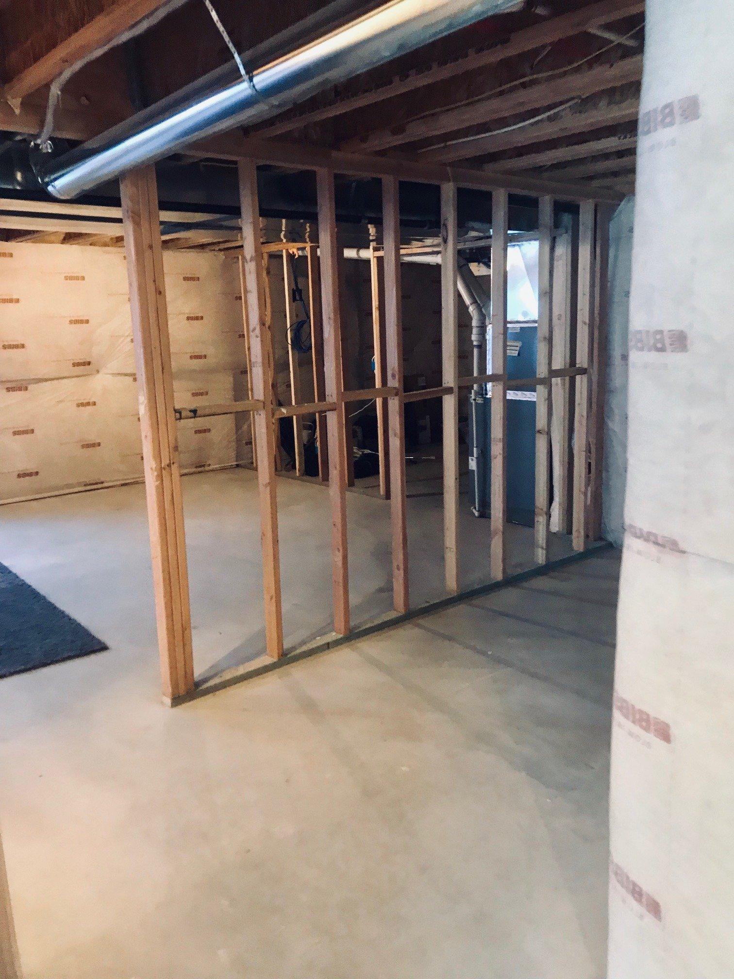 29x38 Basement self storage unit