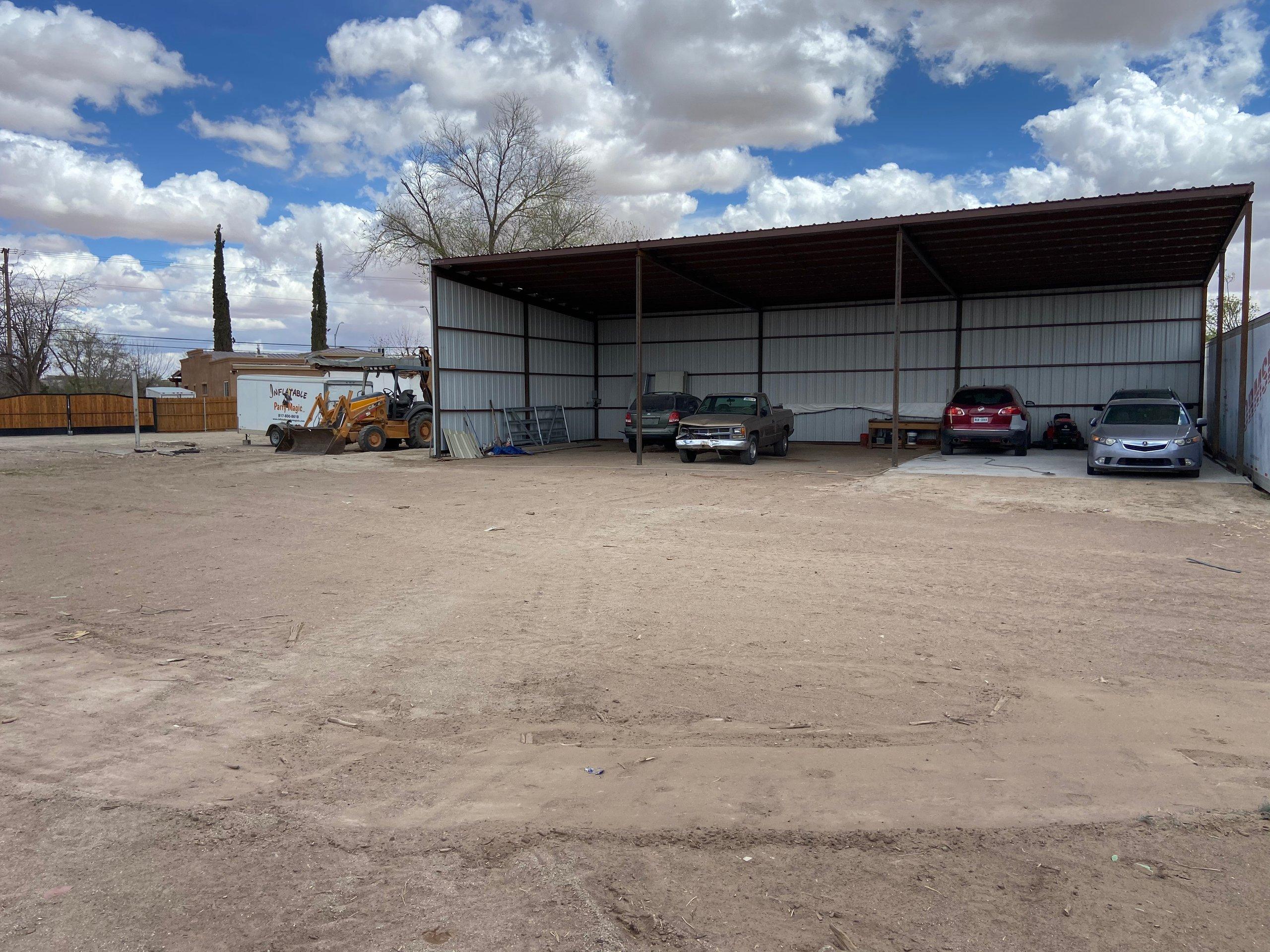 50x10 Parking Lot self storage unit