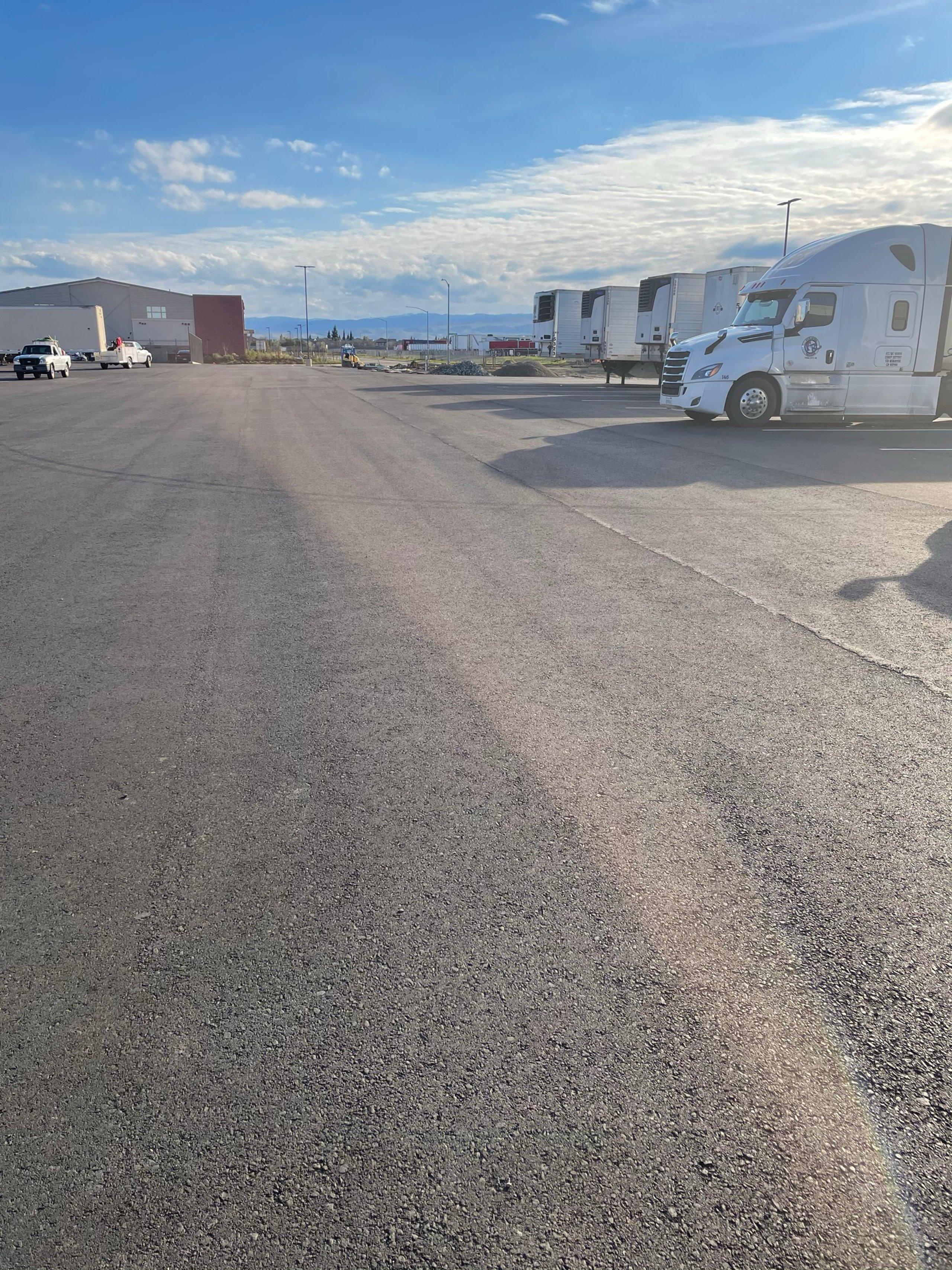 75x12 Parking Lot self storage unit