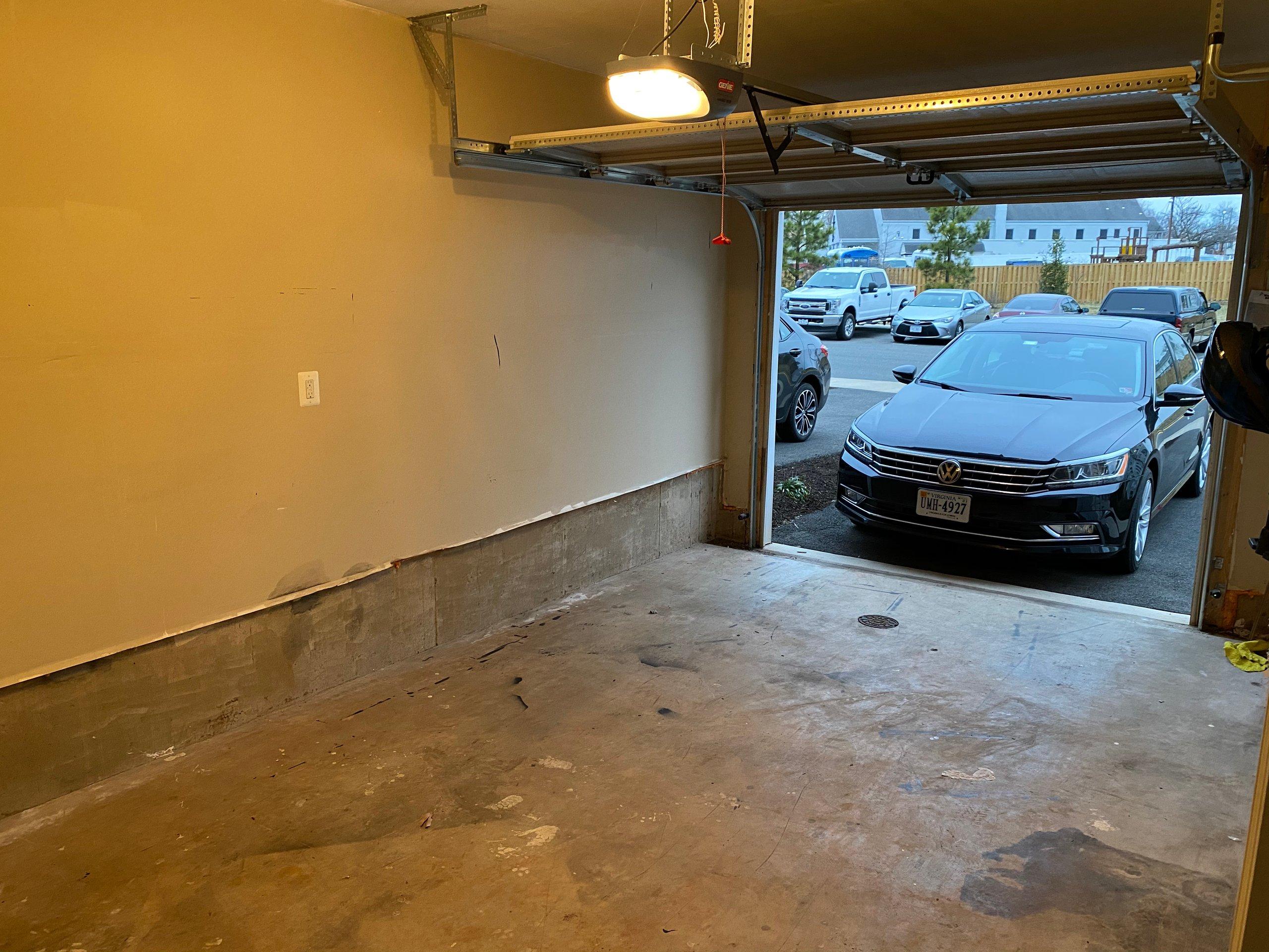 18x8 Garage self storage unit