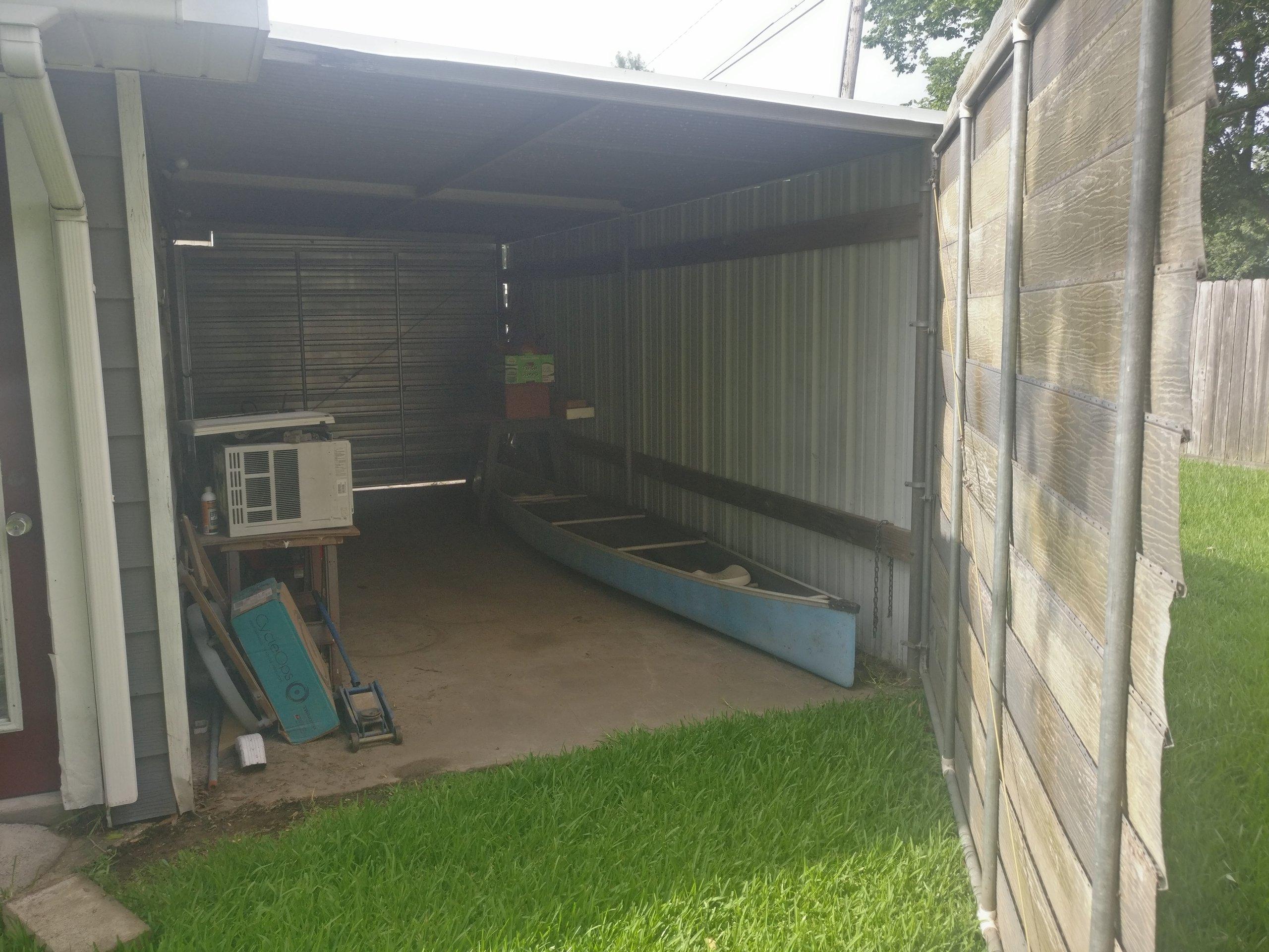 9x20 Garage self storage unit