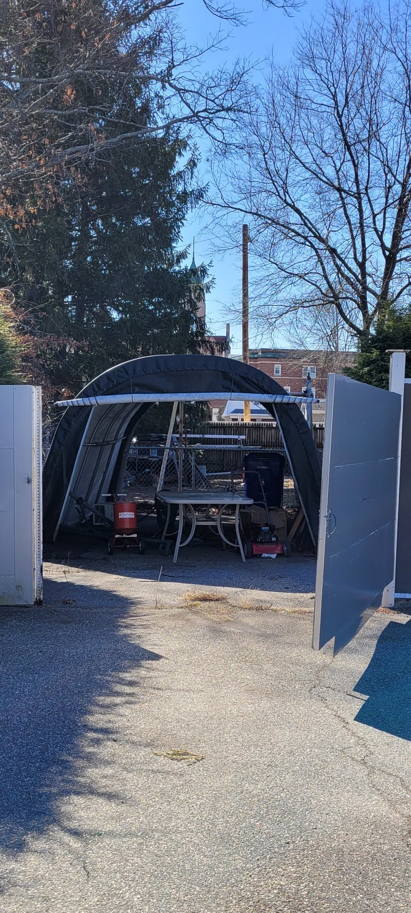 20x14 Carport self storage unit