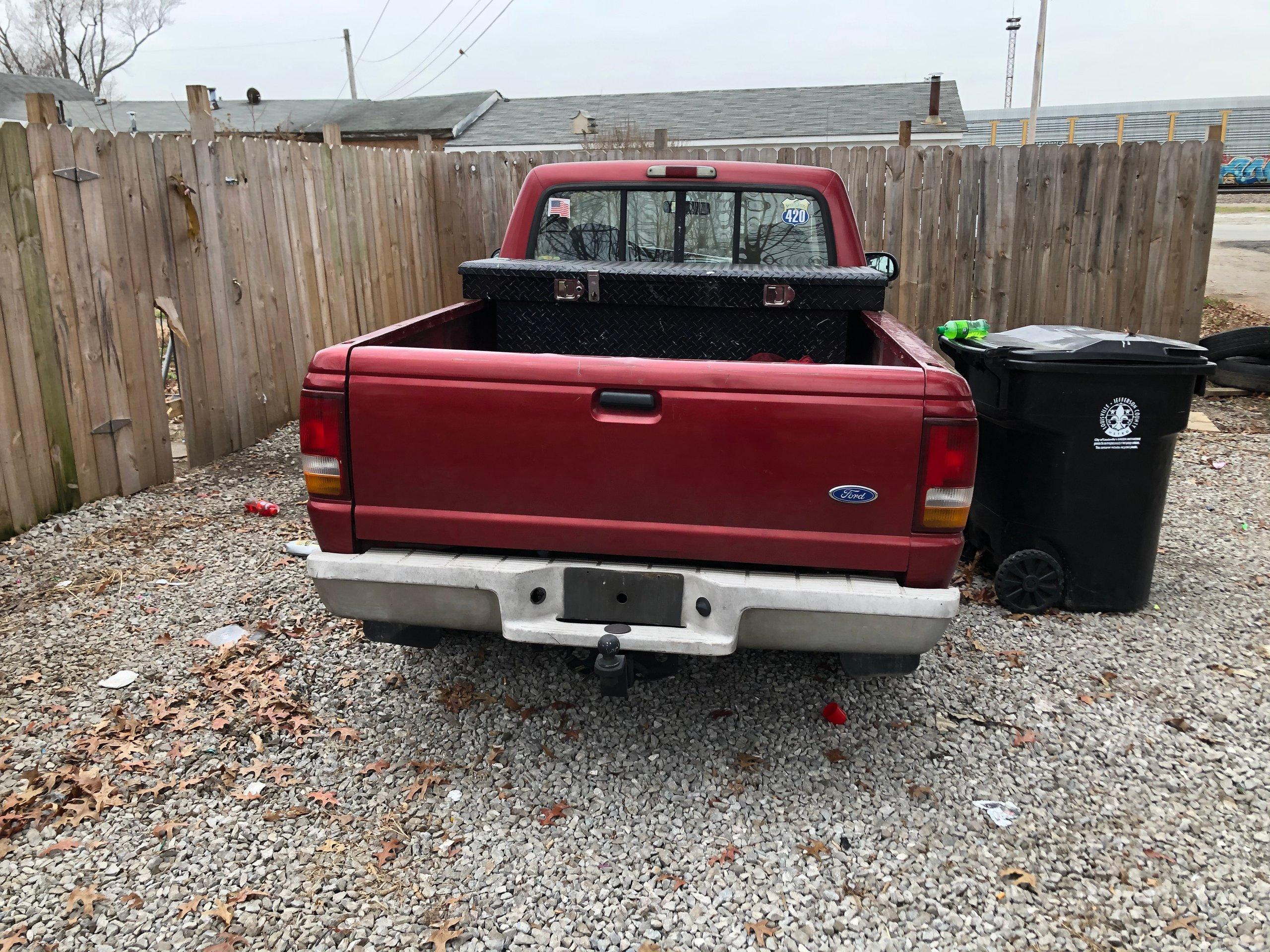 30x15 gravel parkin spaces  self storage unit