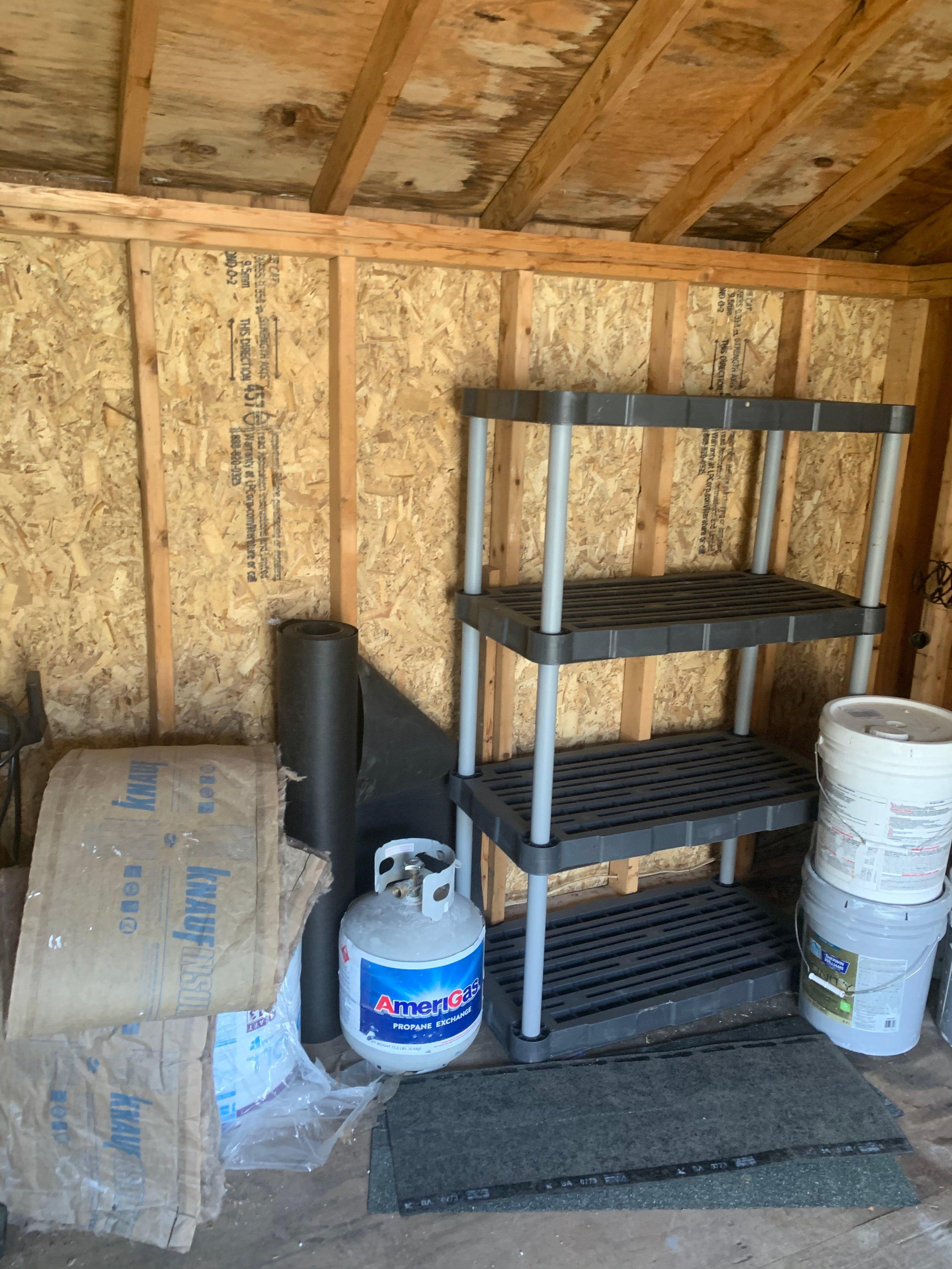 16x11 Shed self storage unit