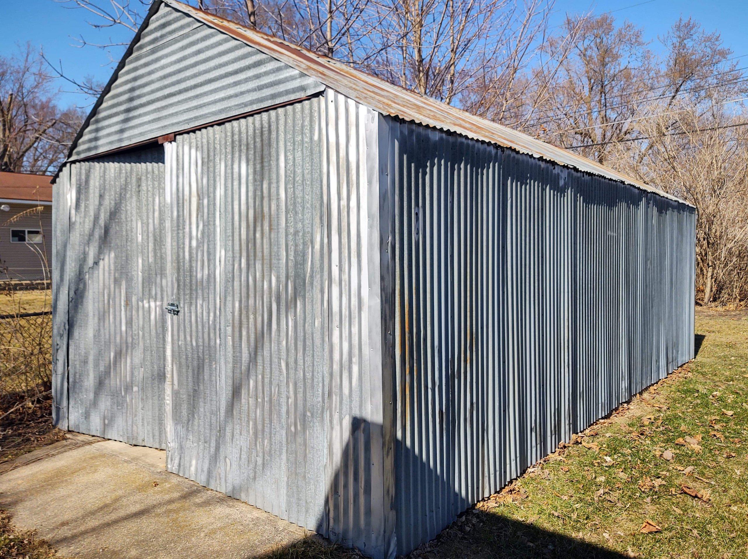 24x11 Garage self storage unit
