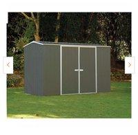 10x7 Shed self storage unit