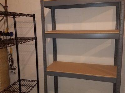 8x8 Basement self storage unit
