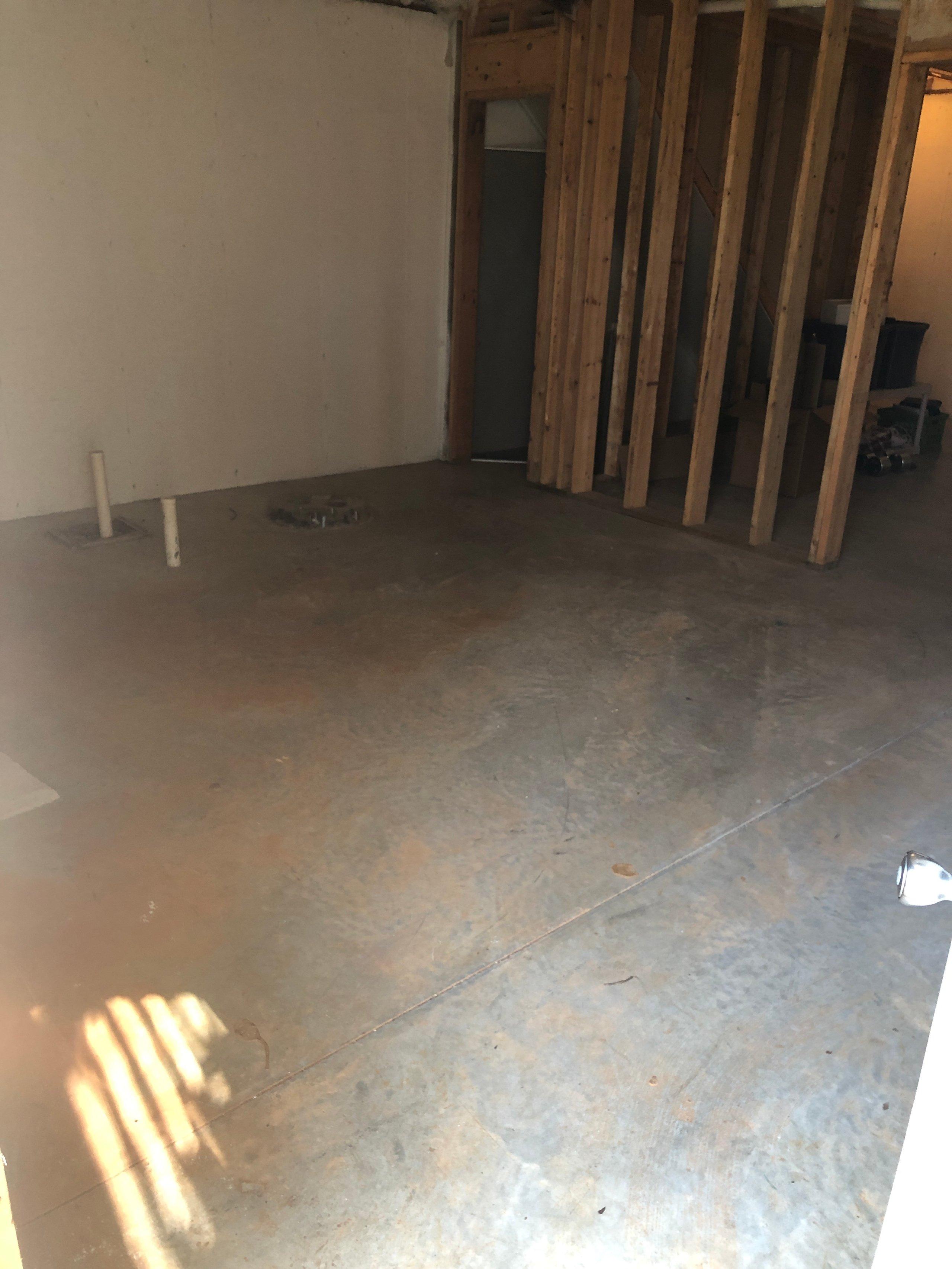 17x13 Basement self storage unit