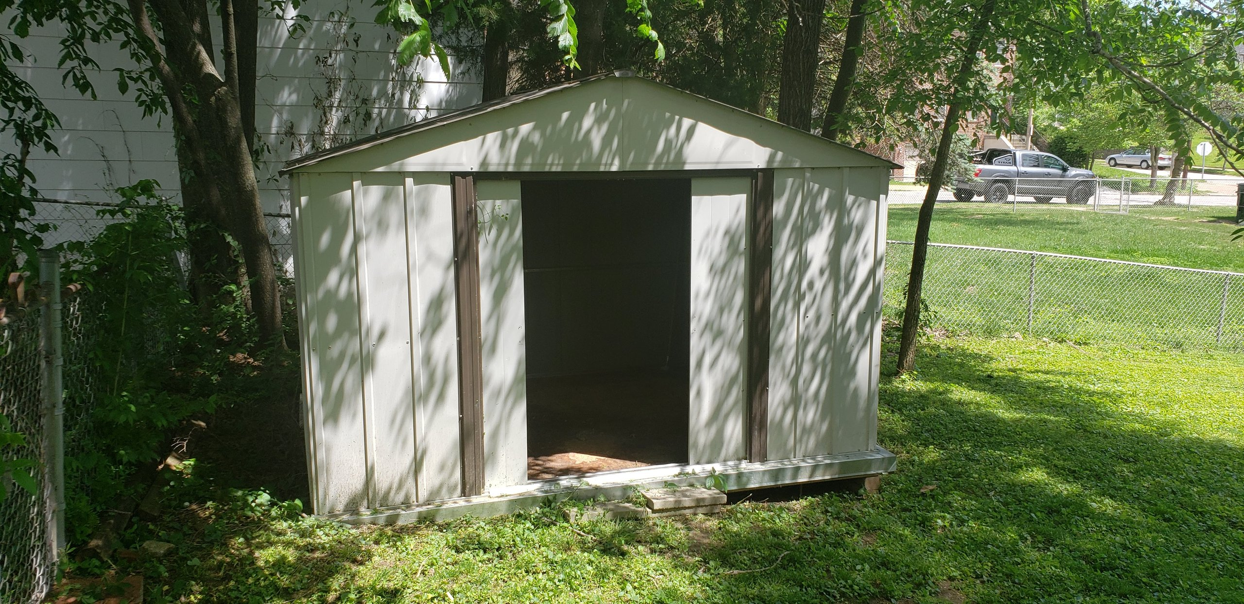 5x5 Shed self storage unit