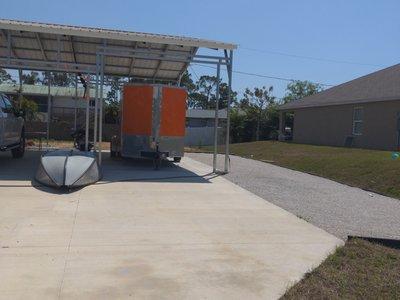 28x10 Carport self storage unit
