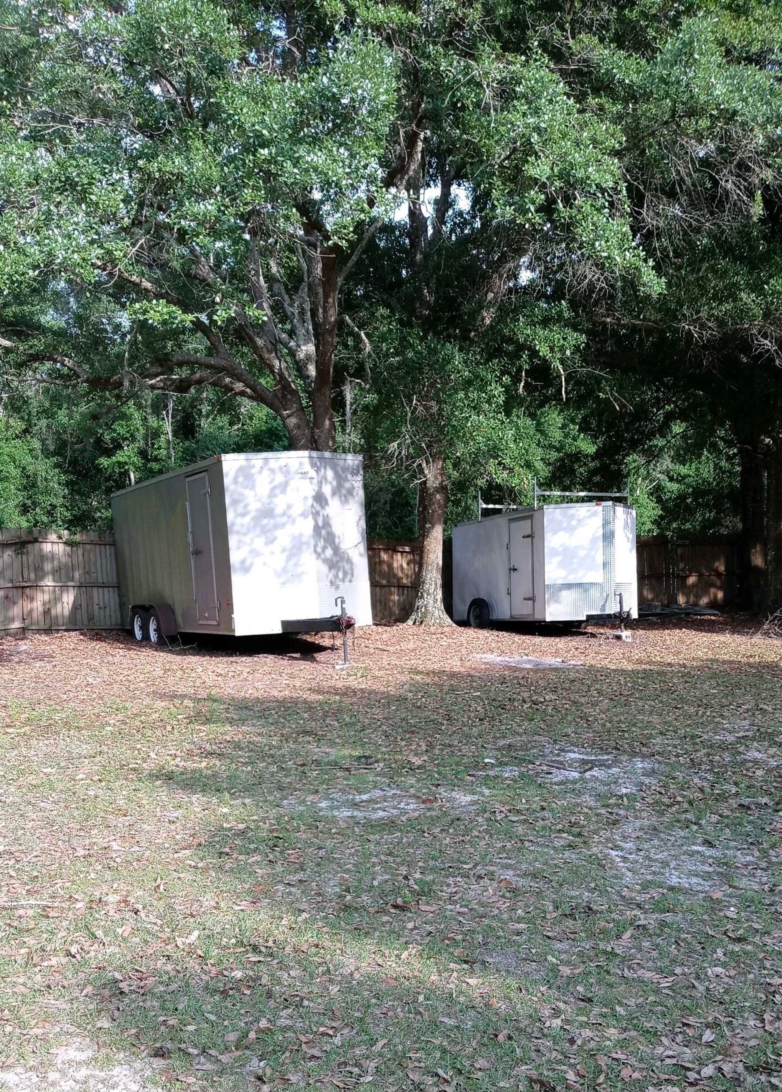 80x15 Unpaved Lot self storage unit