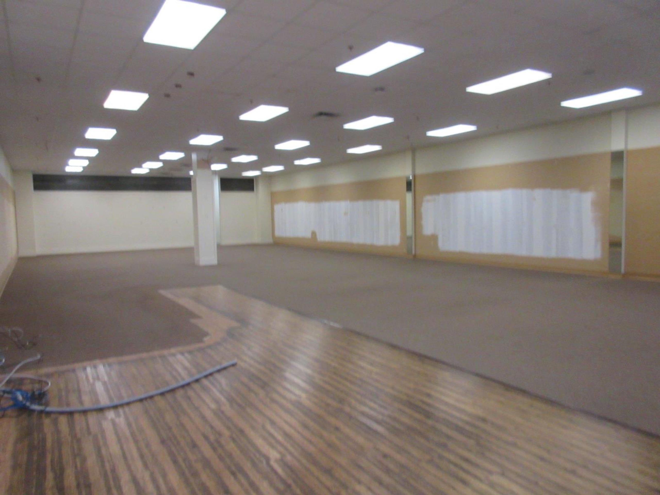 100x36 Warehouse self storage unit