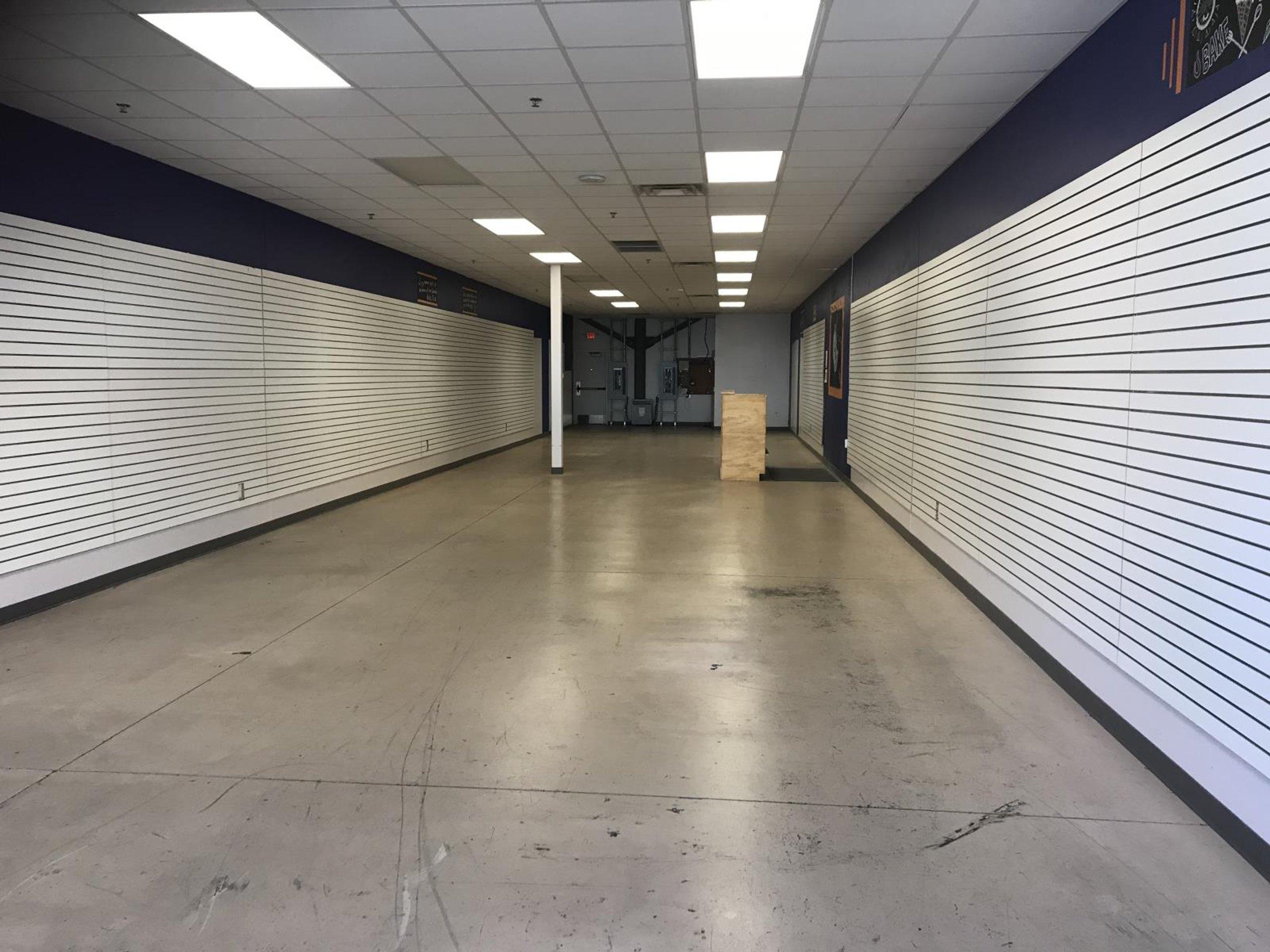 75x27 Warehouse self storage unit