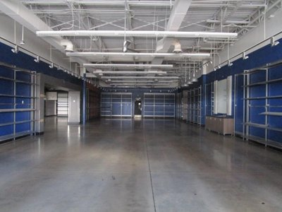 100x55 Warehouse self storage unit
