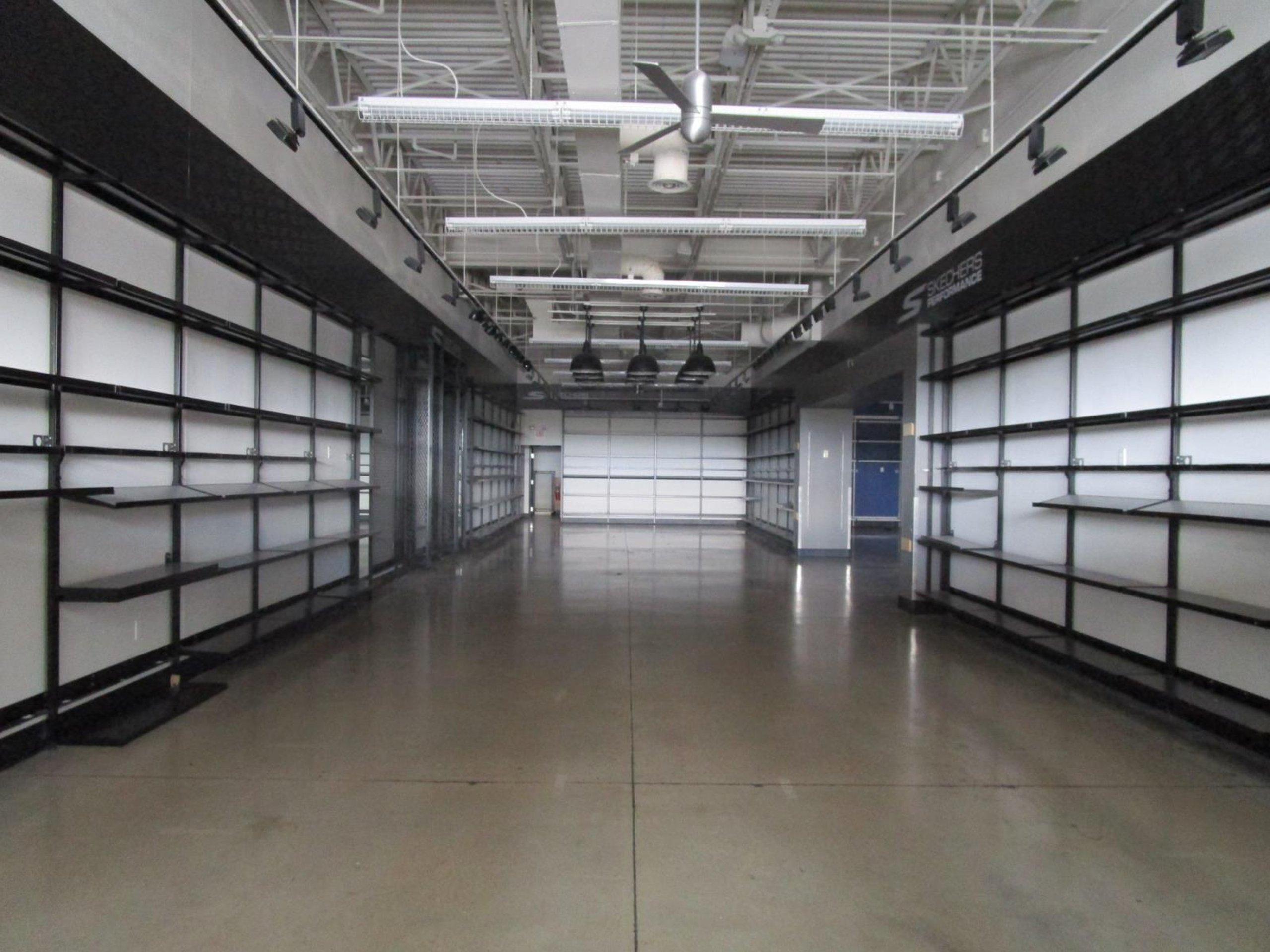 100x55 Warehouse self storage unit