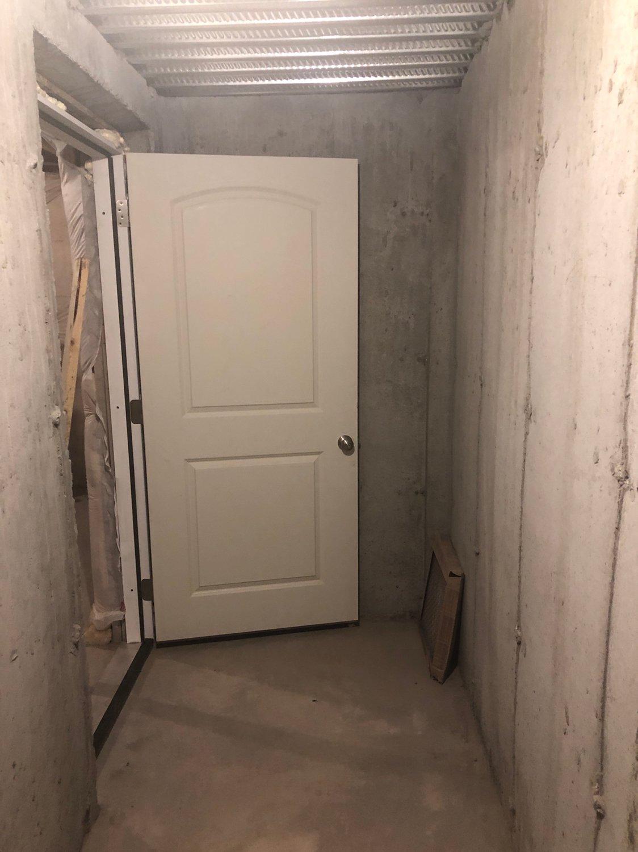 12x4 Basement self storage unit