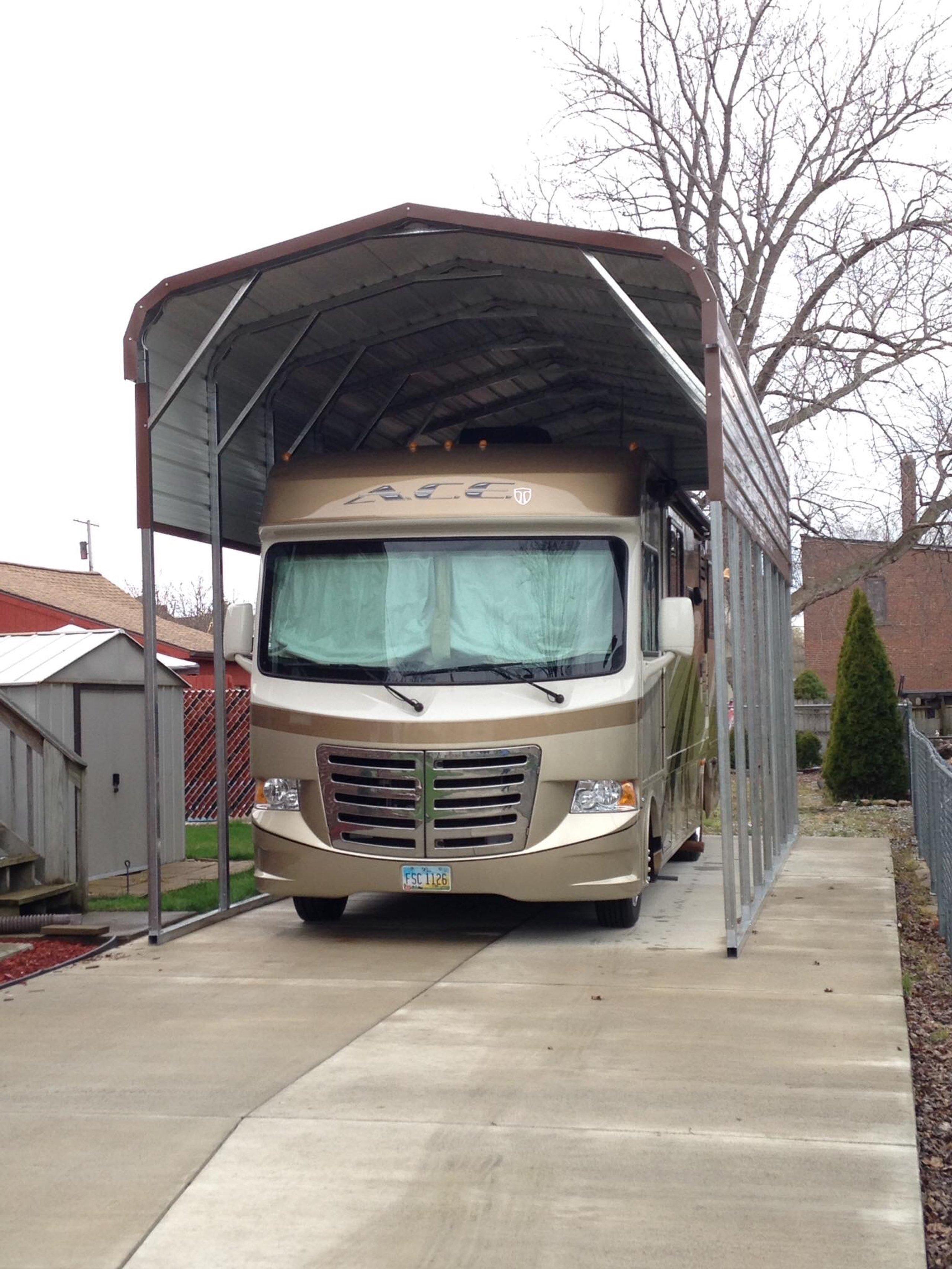 30x12 Carport self storage unit