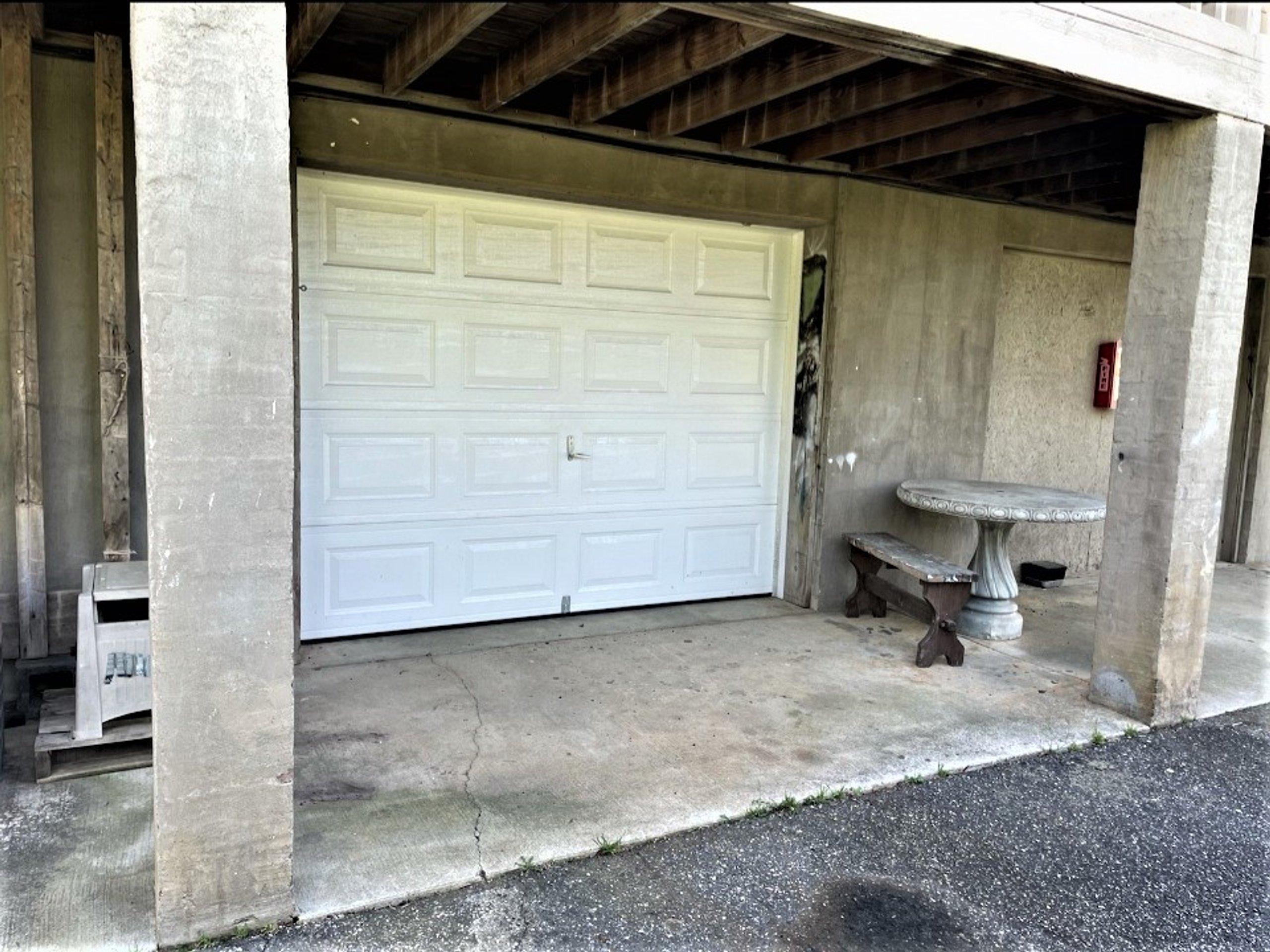 12x16 Garage self storage unit