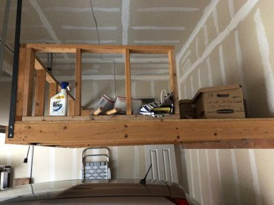 10x8 Attic self storage unit