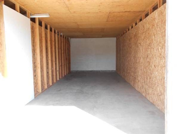 9x24 Garage self storage unit