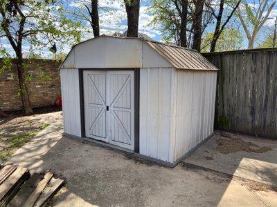 6x6 Shed self storage unit