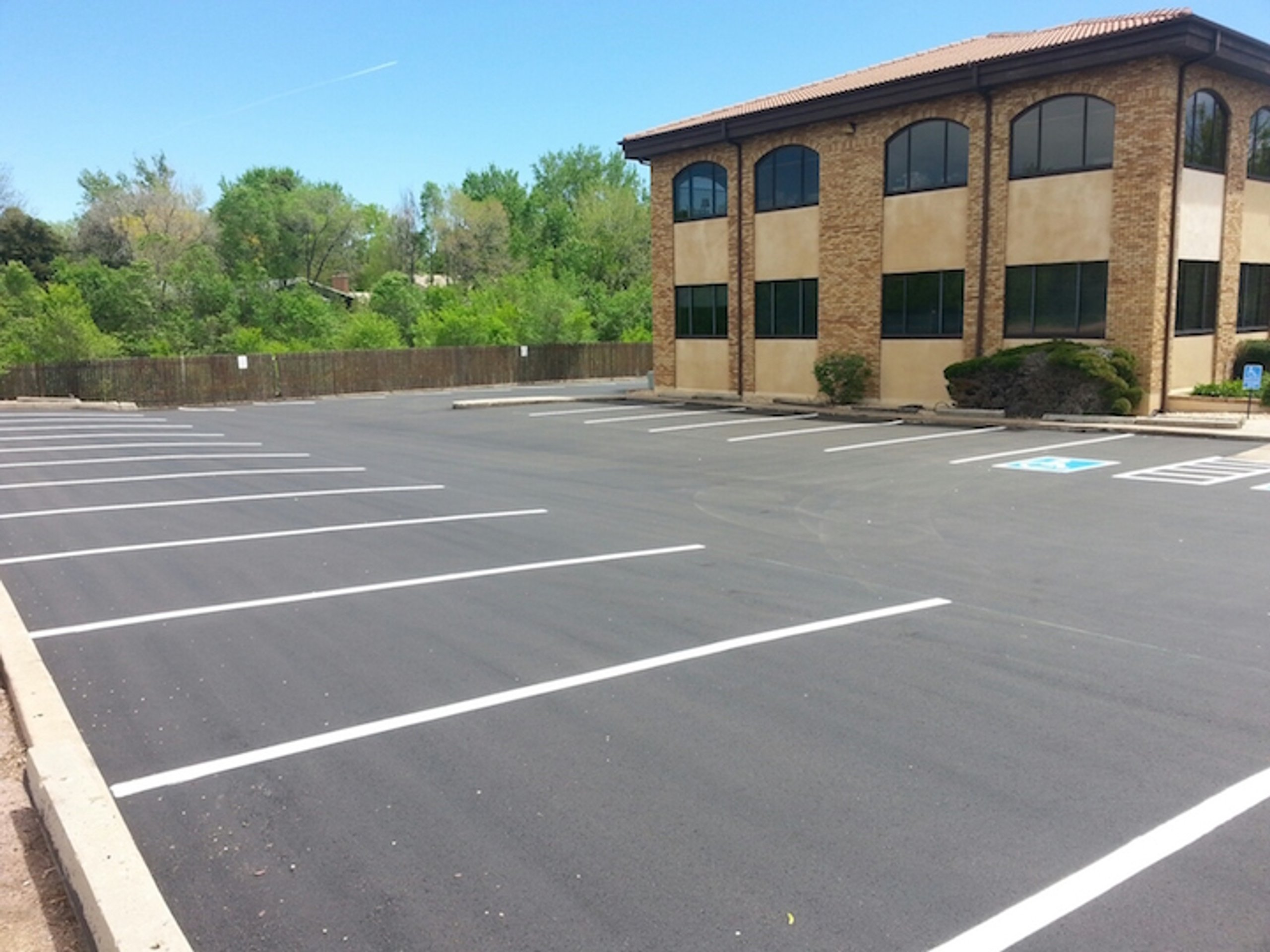20x10 Parking Lot self storage unit