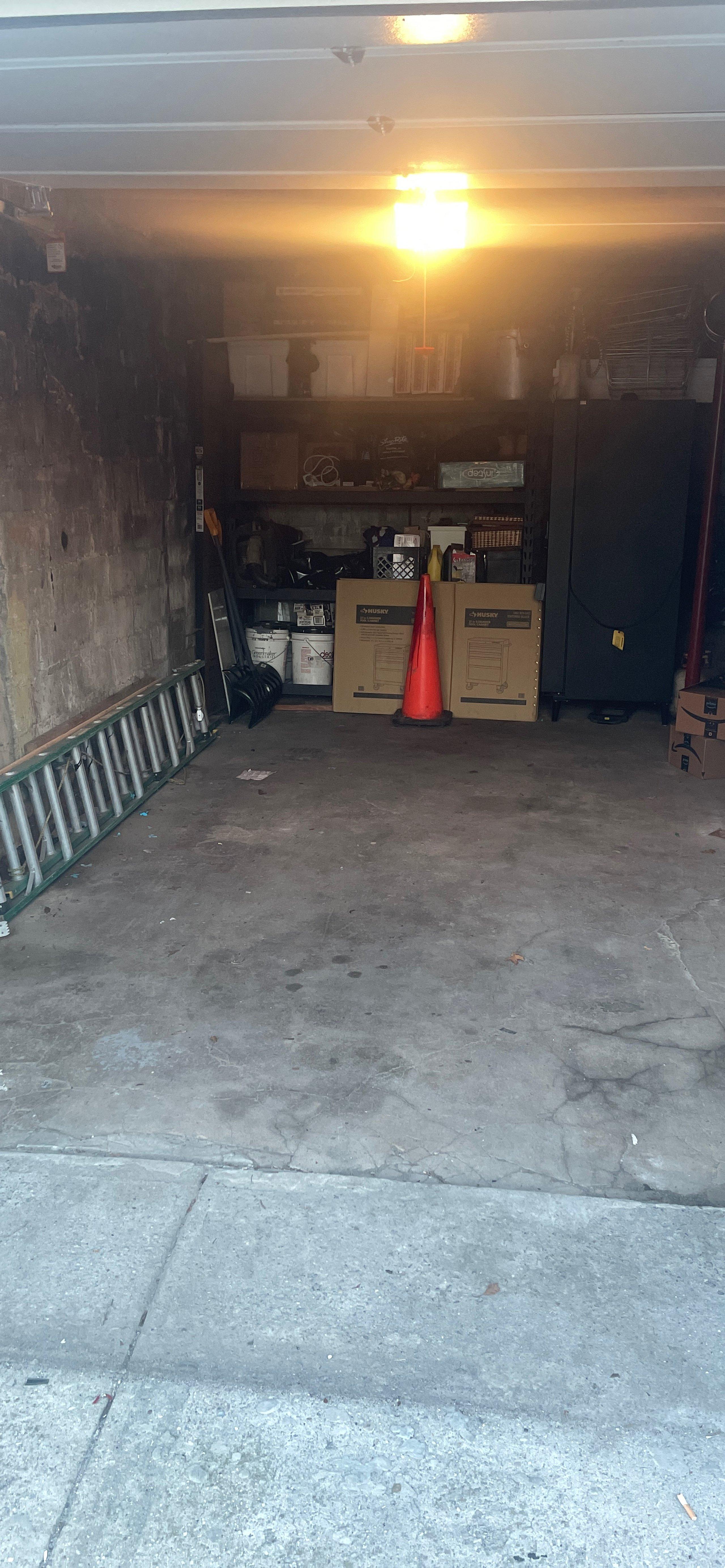 21x8 Garage self storage unit