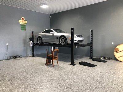 80x40 Garage self storage unit