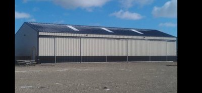 100x40 Warehouse self storage unit