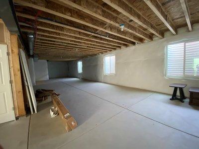 20x14 Basement self storage unit