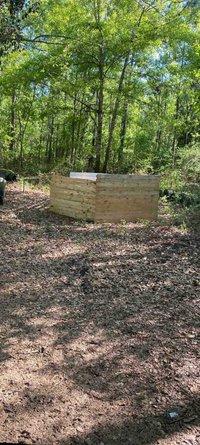 15x30 Unpaved Lot self storage unit