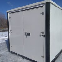 8x16 Shipping Container self storage unit