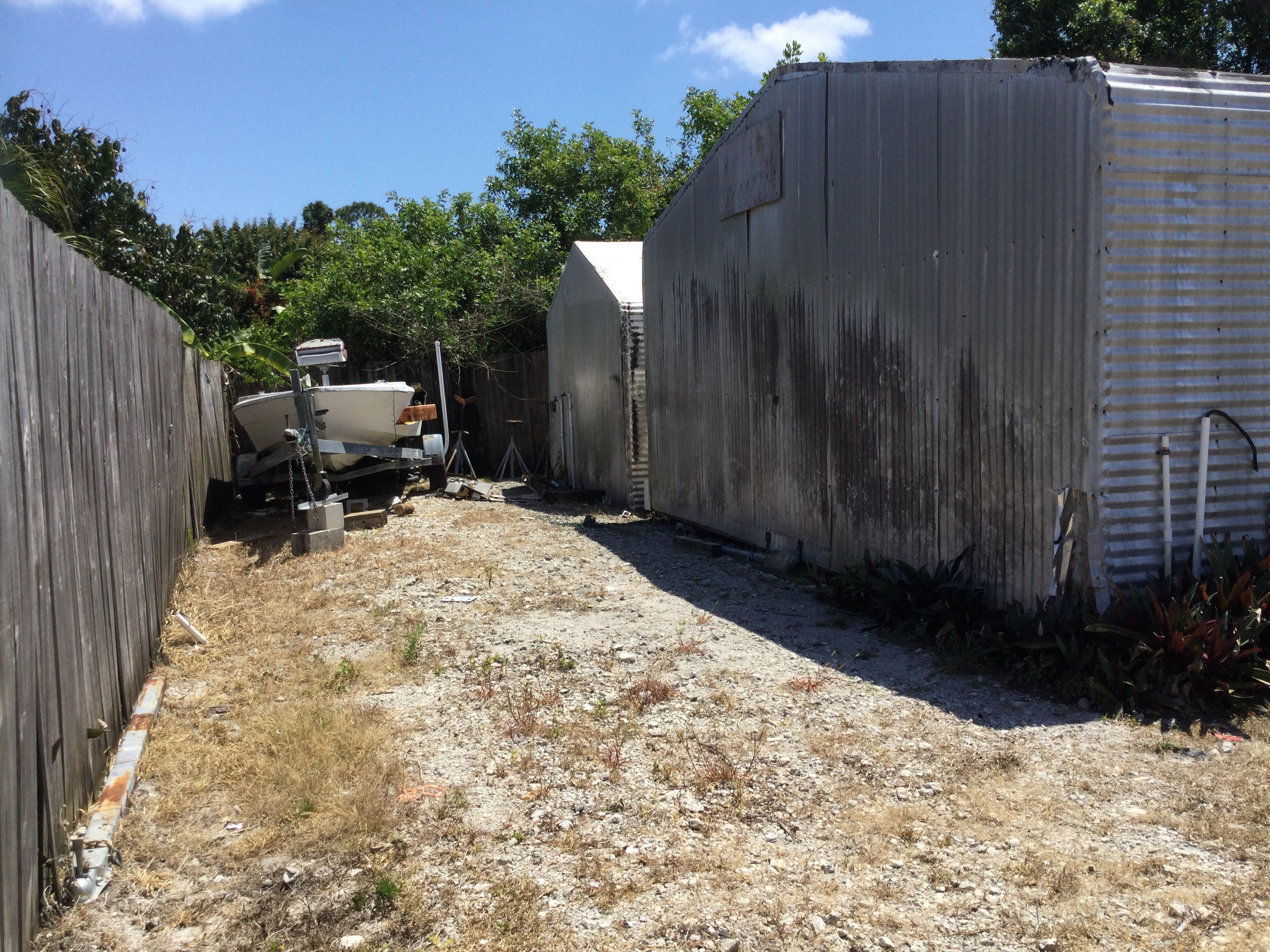 30x50 Unpaved Lot self storage unit