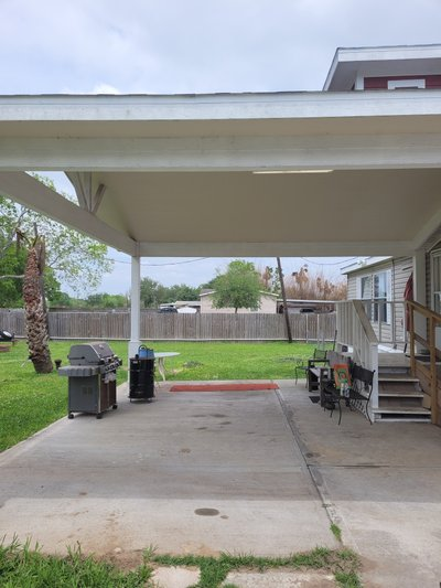 25x25 Carport self storage unit