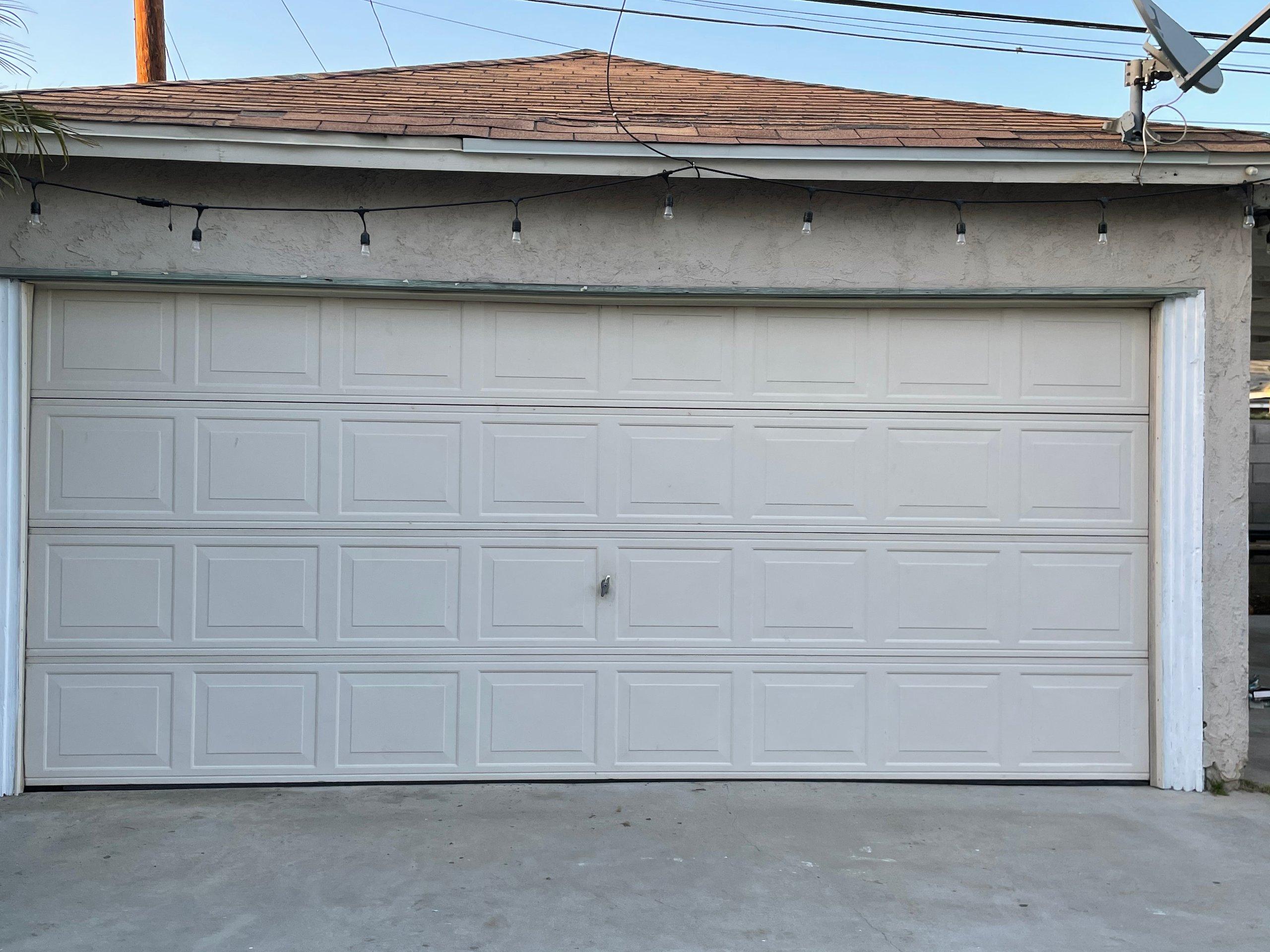 20x23 Garage self storage unit