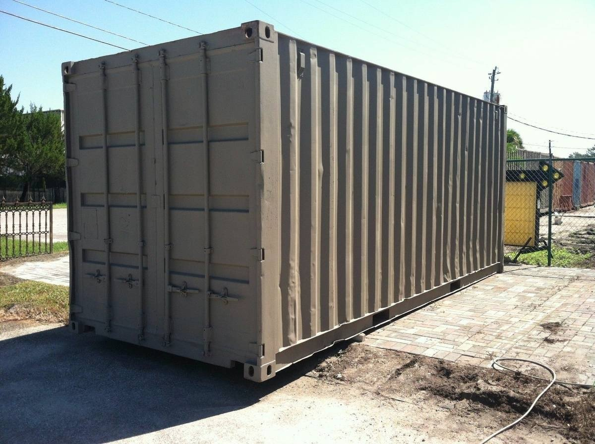 8x20 Shipping Container self storage unit