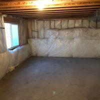 25x17 Basement self storage unit