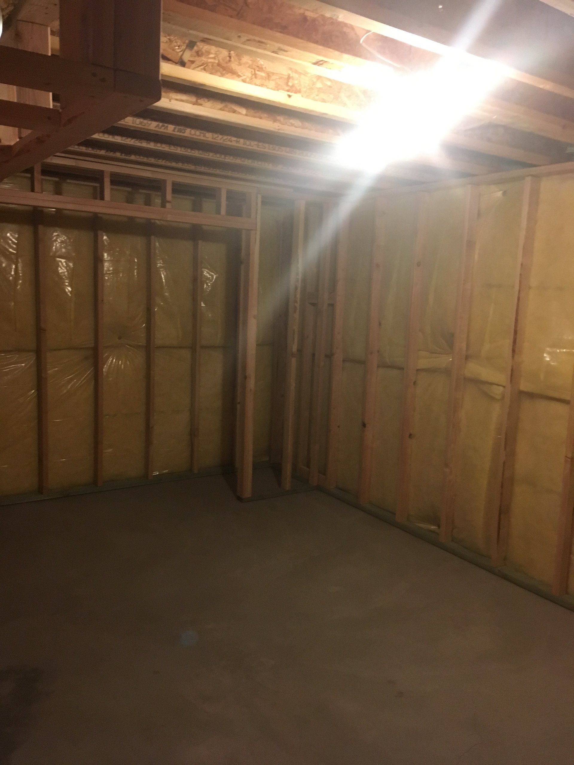16x10 Basement self storage unit