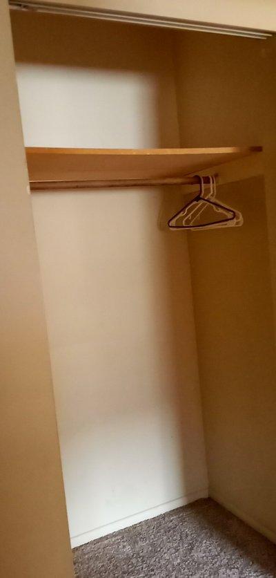 10x7 Closet self storage unit