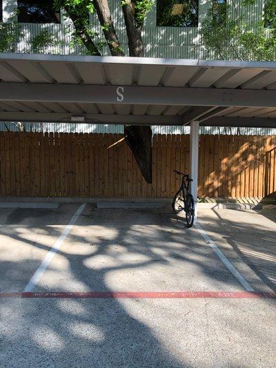 16x9 Carport self storage unit