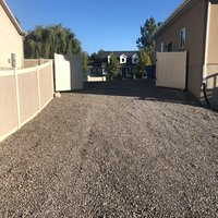 30x20 Unpaved Lot self storage unit
