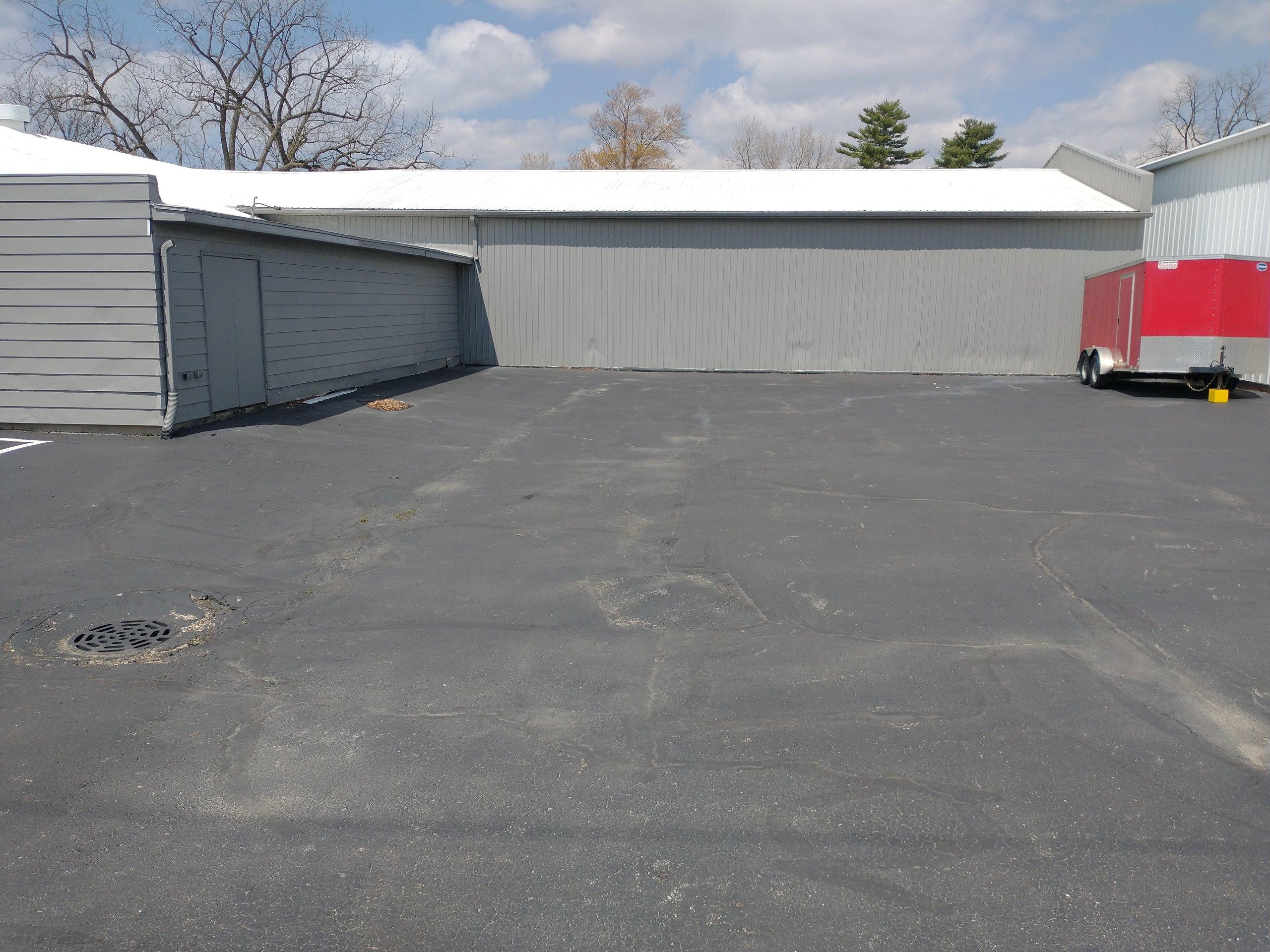 40x20 Parking Lot self storage unit