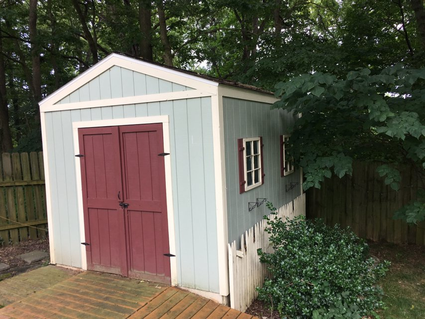 10x10 Shed self storage unit