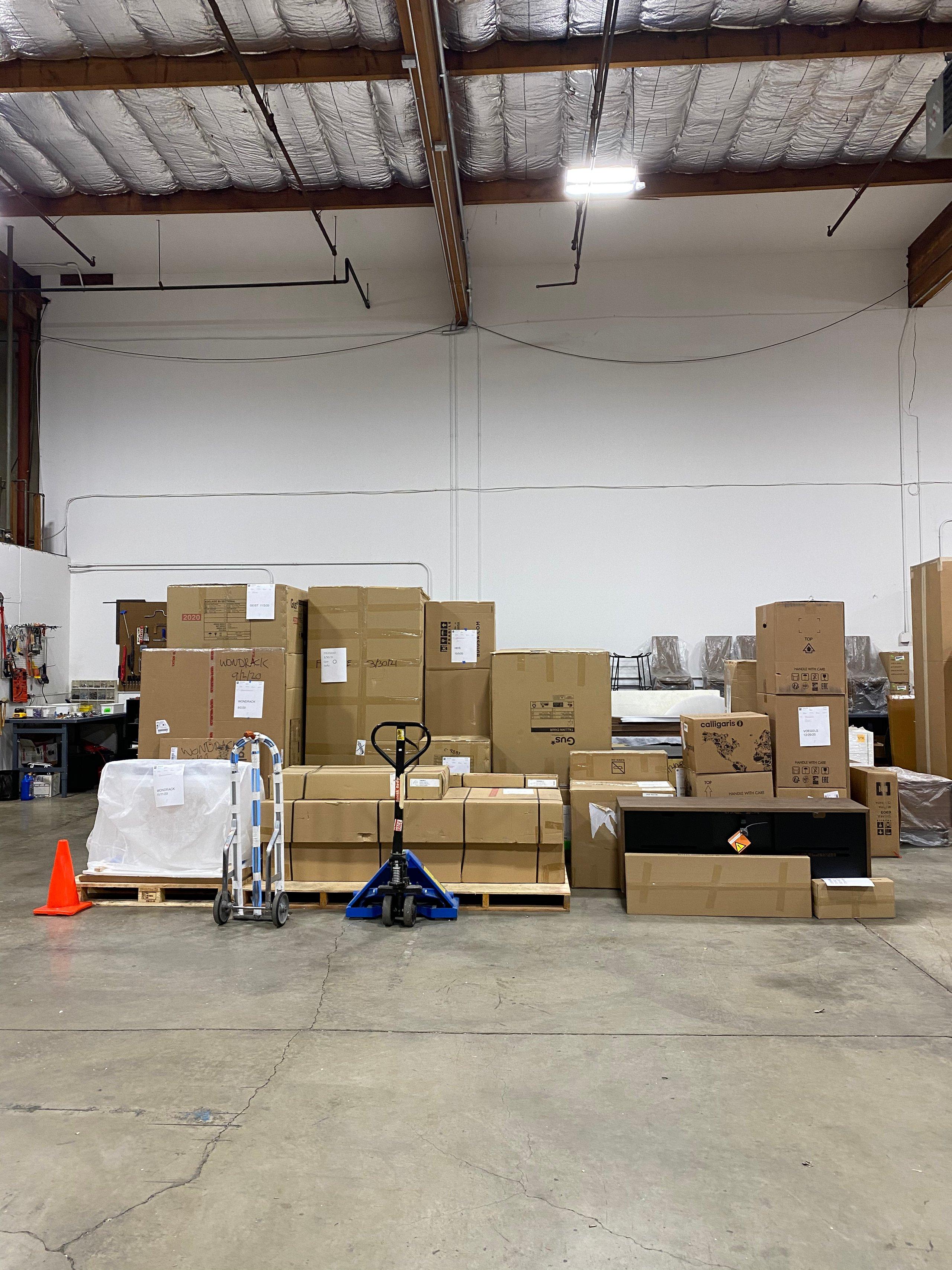 6x6 Warehouse self storage unit